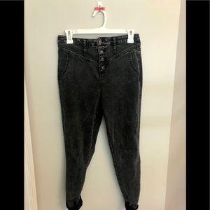 Black High-Rise Jeans